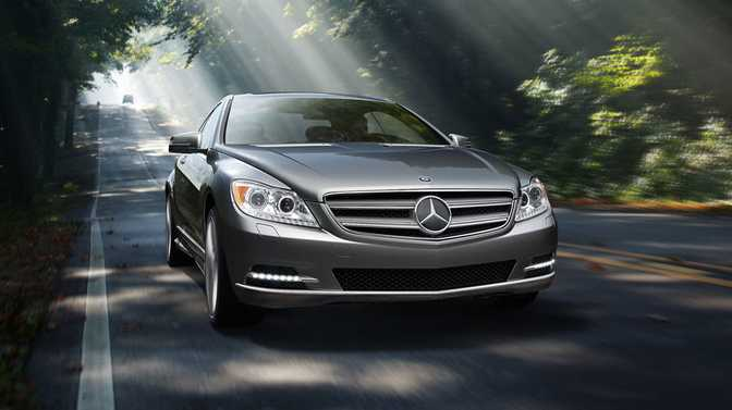 Mercedes-Benz CL550 4MATIC Coupe (2014)
