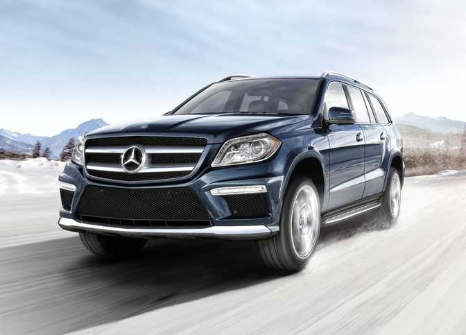 Mercedes-Benz GL450 4MATIC (2014)