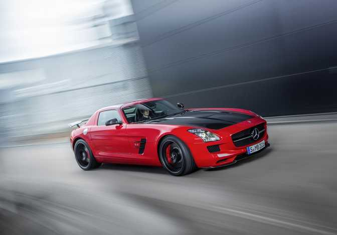 Mercedes-Benz SLS AMG GT Final Edition Roadster