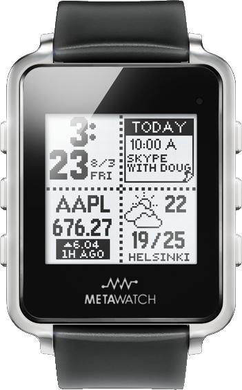 MetaWatch Frame