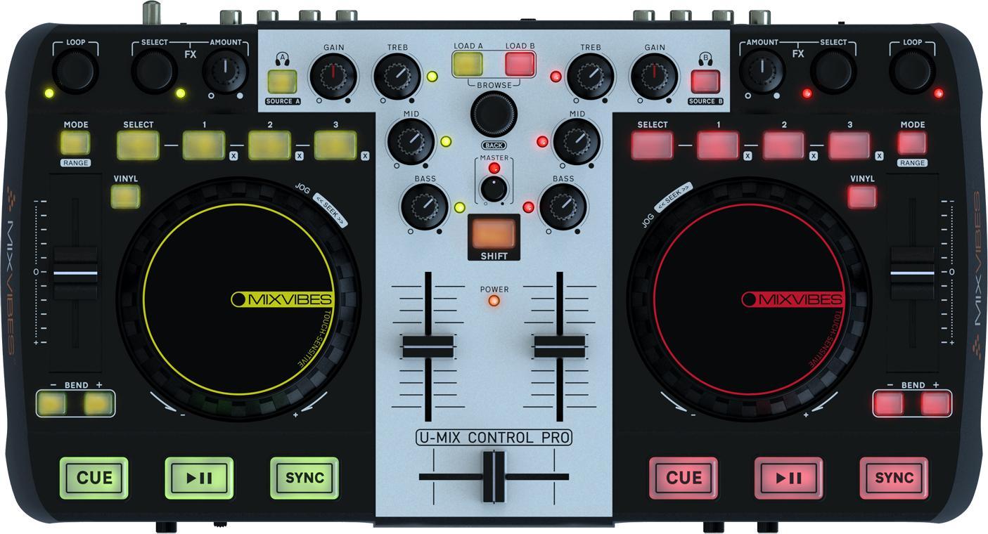 MixVibes U-Mix Control Pro 2