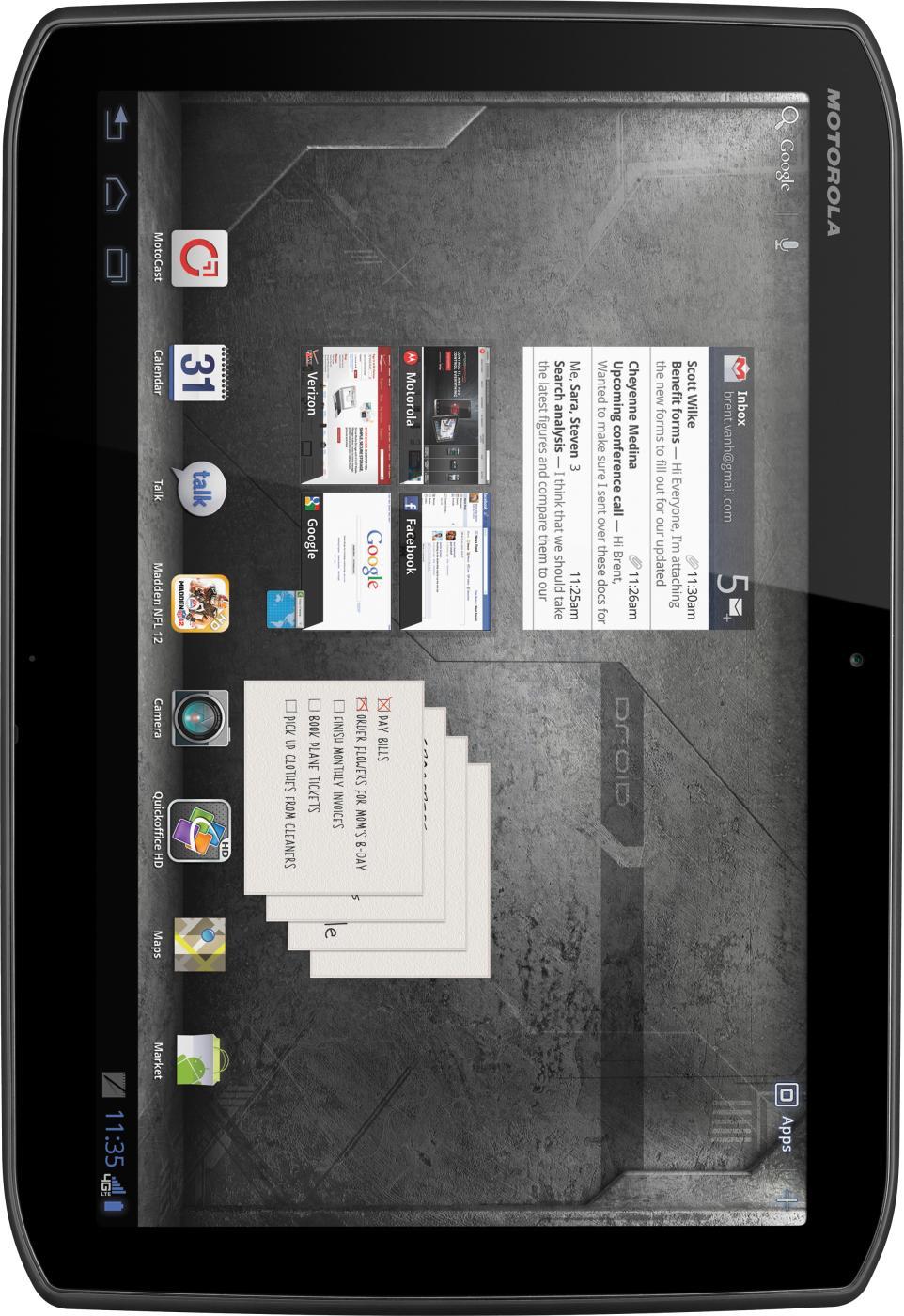 Motorola DROID XYBOARD 10.1 MZ617 32GB