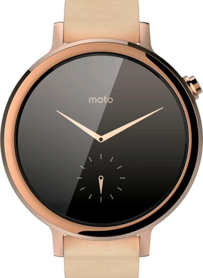 Motorola Moto 360 (2nd Gen.) for Women 42mm