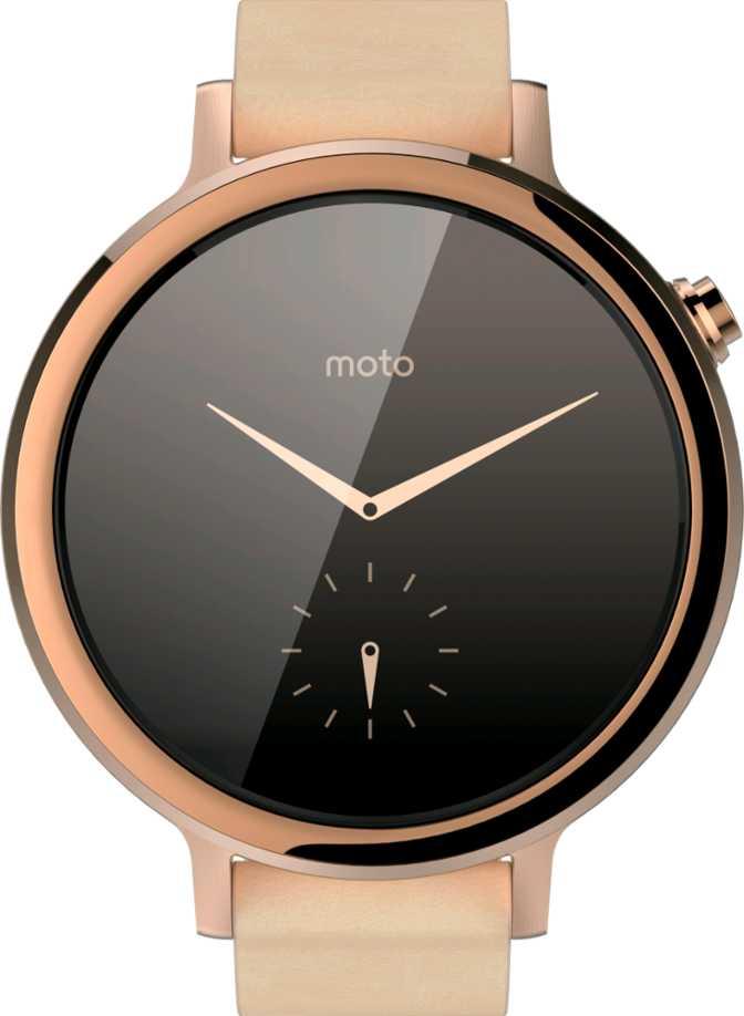 Motorola Moto 360 (2nd Gen.) for Women 42mm