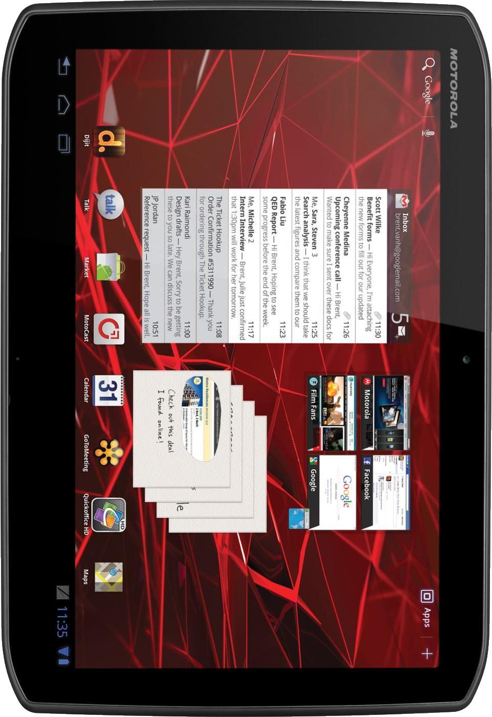 Motorola XOOM 2 Media Edition MZ607 16GB
