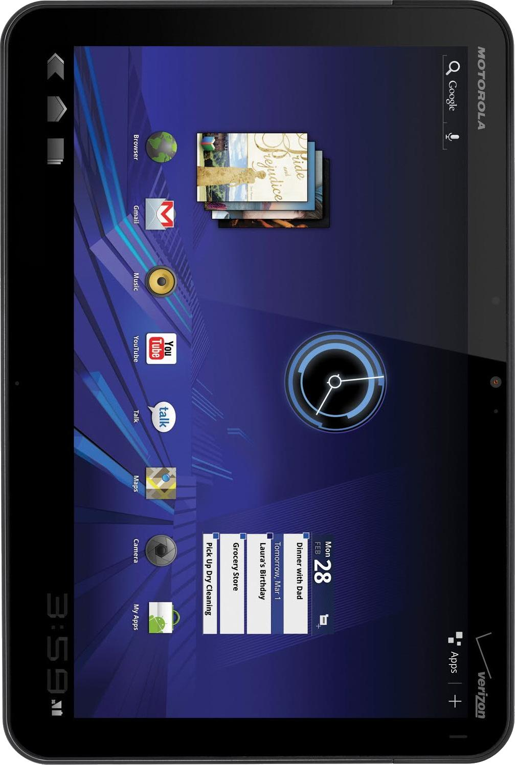 Motorola XOOM Media Edition MZ505