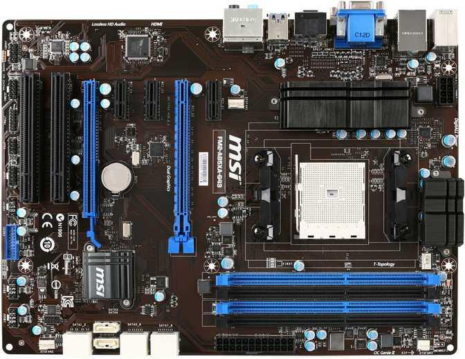 MSI FM2-A85XA-G43