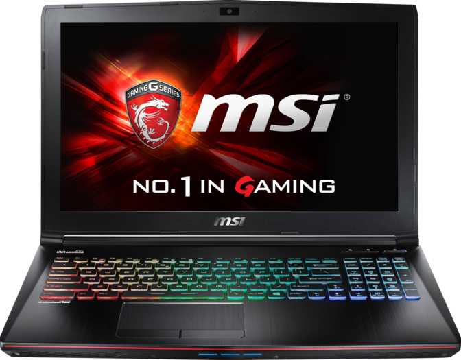 "MSI GE62VR 6RF Apache Pro 15.6"" Intel Core i7-6700HQ 2.6GHz / 16GB / 256GB"