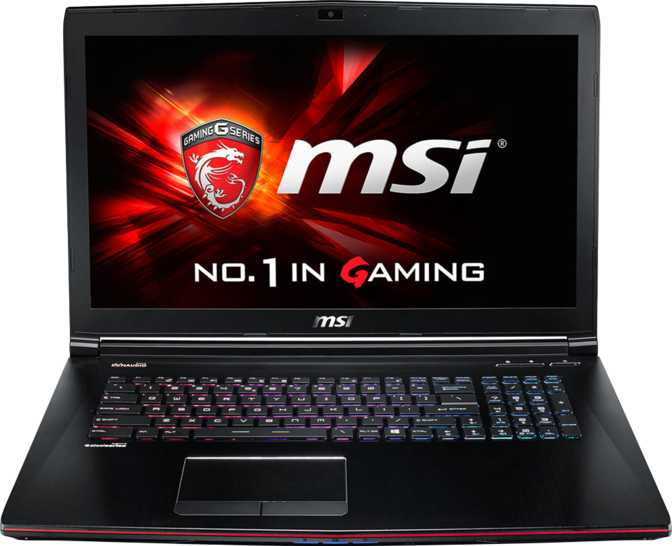 "MSI GE72 17.3"" Intel Core i7-6700HQ 2.6GHz / 8GB / 1TB"