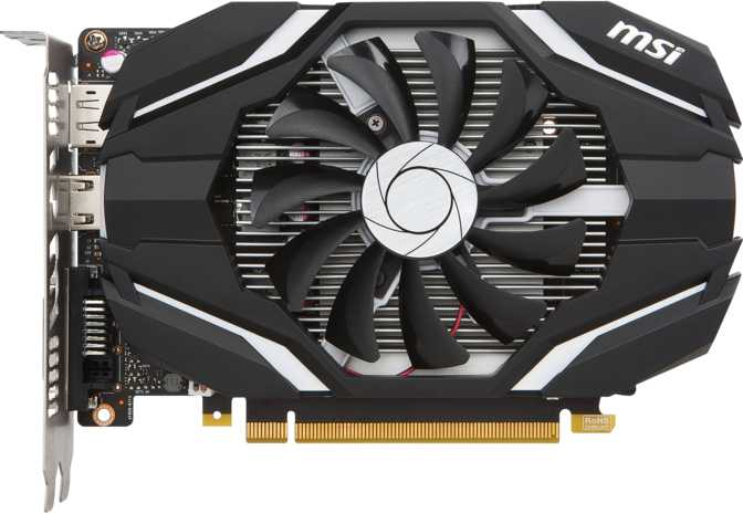 MSI GeForce GTX 1050 OC