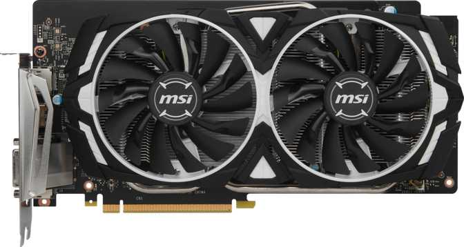 MSI GeForce GTX 1060 Armor OC