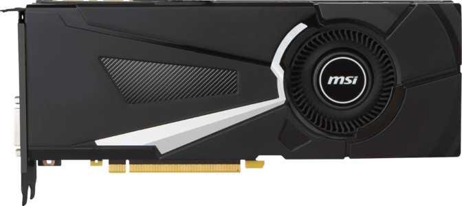 MSI GeForce GTX 1070 Aero OC
