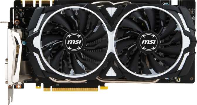 MSI GeForce GTX 1070 Armor OC