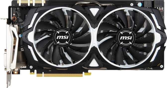 MSI GeForce GTX 1080 Armor OC