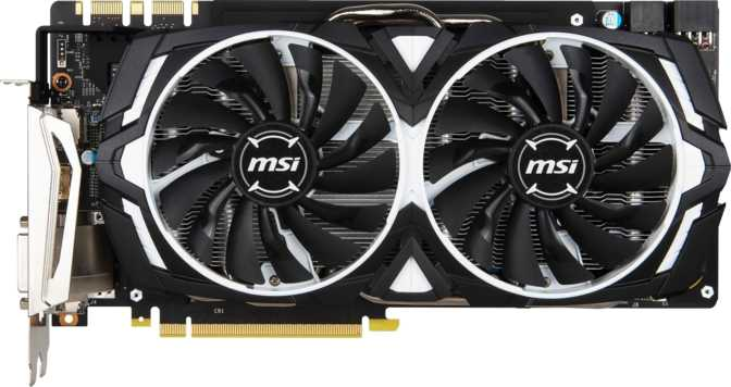 MSI GeForce GTX 1080 Armor