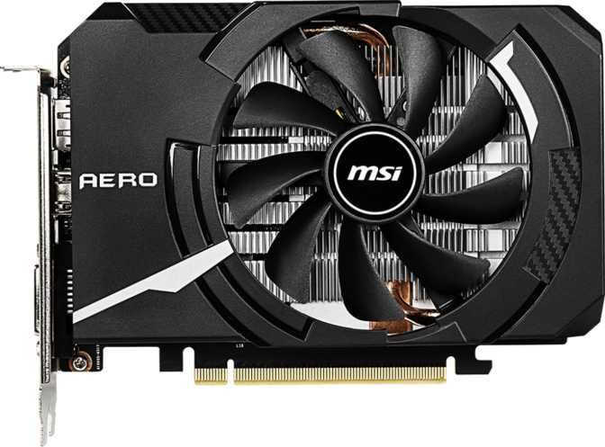 MSI GeForce GTX 1660 Aero ITX