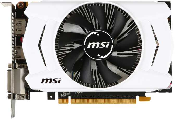 MSI GeForce GTX 960 OC V1 2GB