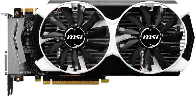 MSI GeForce GTX 960 OC 4GB