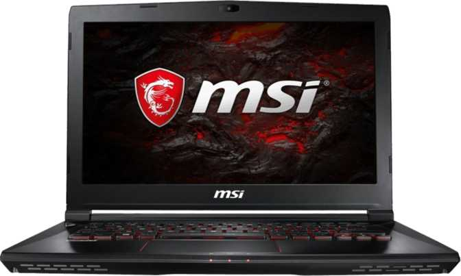 "MSI GS43VR 7RE Phantom Pro 14"" Intel Core i7-7700HQ / 2.8GHz / 16GB / 128GB SSD"