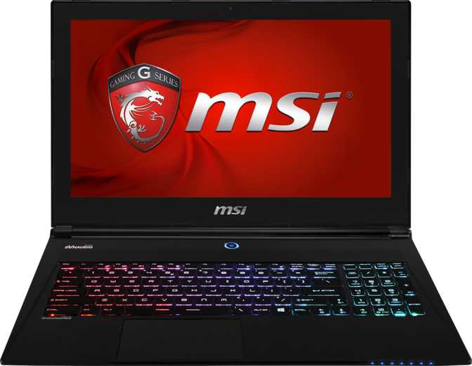 "MSI GS60 Ghost Pro-002 15.6"" Intel Core i7-6700HQ 2.6GHz / 16GB / 1TB"