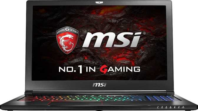 "MSI GS63VR 6RF Stealth Pro 15.6"" Intel Core i7 6700HQ 2.6GHz / 16GB / 256GB"