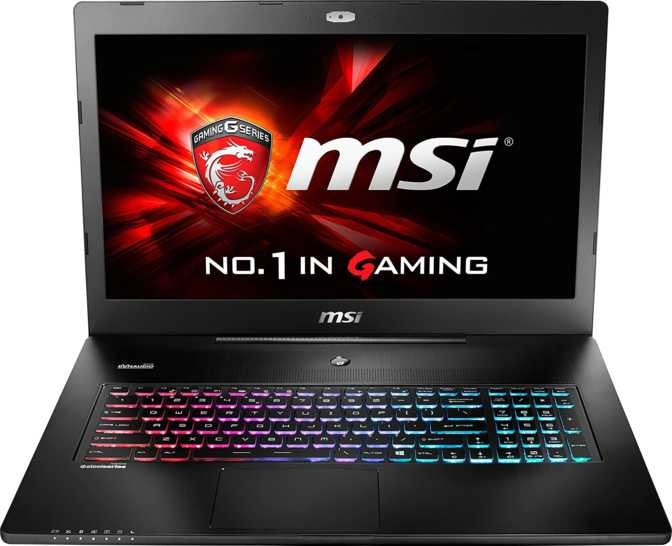 "MSI GS72 Stealth Pro 17.3"" Intel Core i7-6700HQ 2.6GHz / 16GB / 128GB"