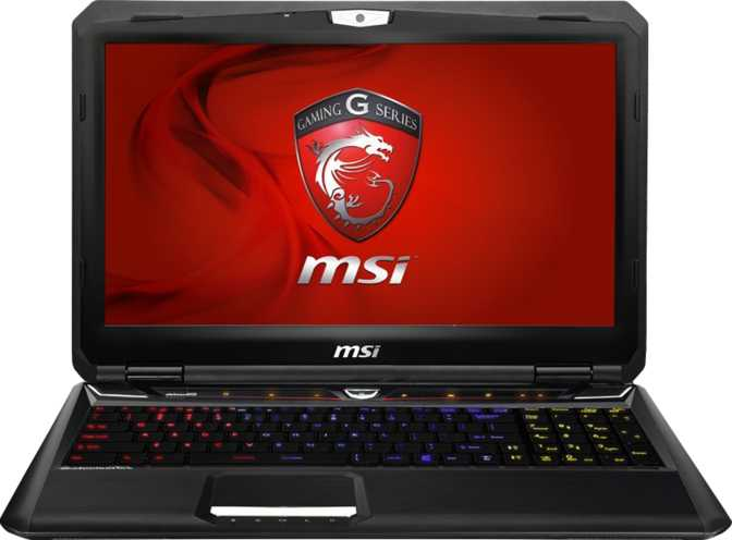 "MSI GT60 Dominator Pro 15.6"" Intel Core i7-4800MQ 2.7GHz / 16GB / 750GB"