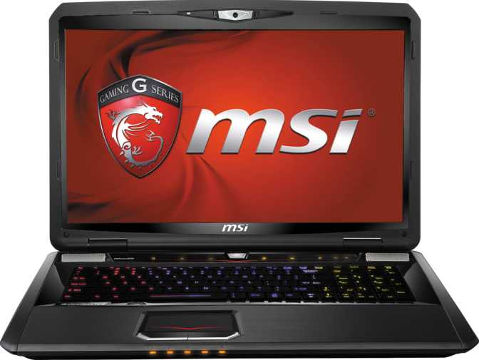 "MSI GT70 Dominator 17.3"" Intel Core i7-4800MQ 2.7GHz / 16GB / 750GB"