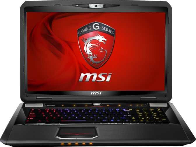 """MSI GT70 Dominator Dragon-1886 17.3"""" Intel Core i7-4810MQ 2.8GHz / 8GB / 1TB"""