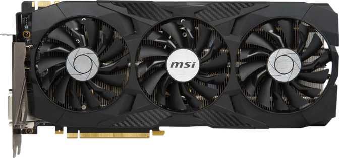 MSI GTX 1080 Ti Duke