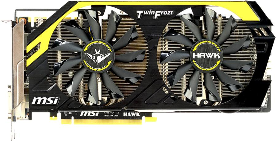 MSI GeForce N760 Hawk