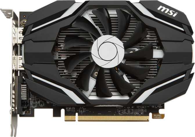 MSI Radeon RX 460 OC 2GB