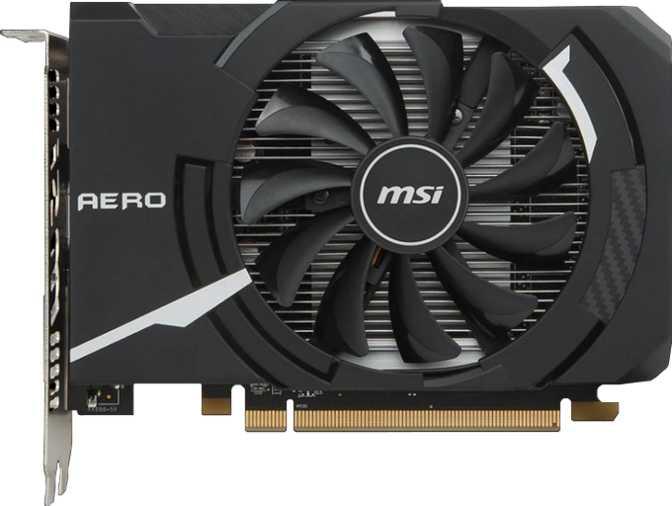 MSI Radeon RX 550 Aero ITX OC 4 GB