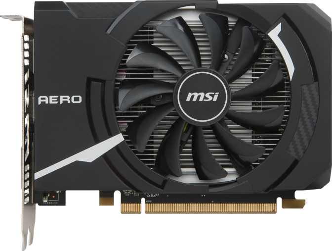 MSI Radeon RX 560 Aero ITX OC 4GB