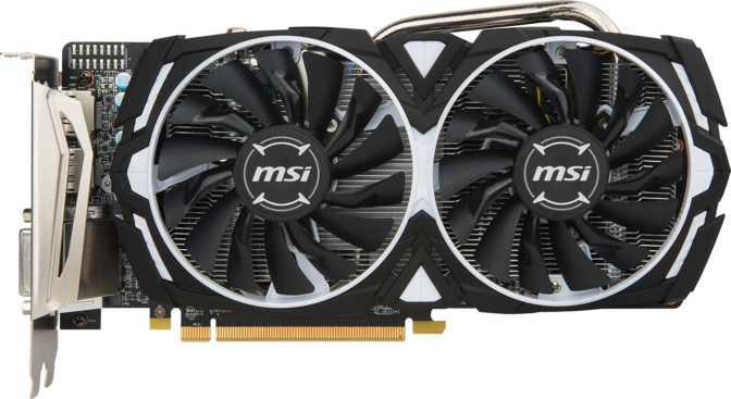 MSI Radeon RX 570 Armoc OC