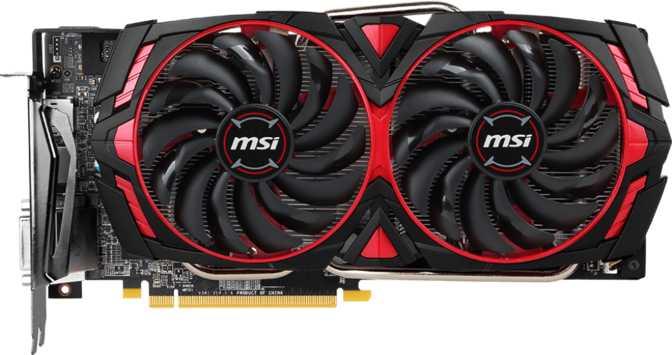 MSI Radeon RX 580 Armor MK2 8GB OC
