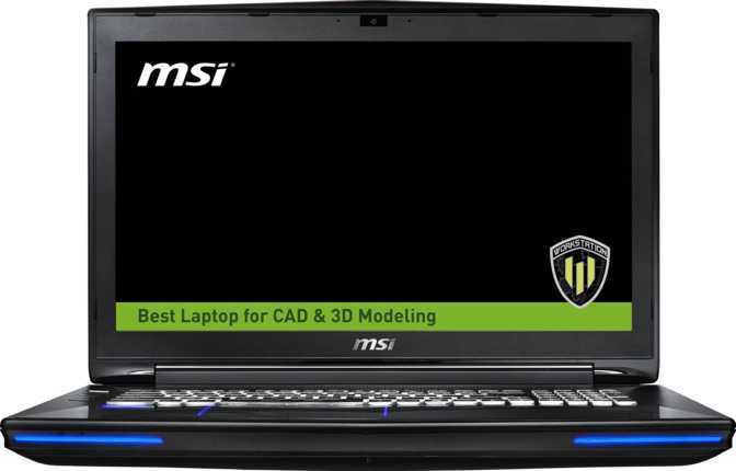 "MSI WT72 6QK 17.3"" Intel Core i7 6700HQ 2.6GHz / 16GB / 128GB"