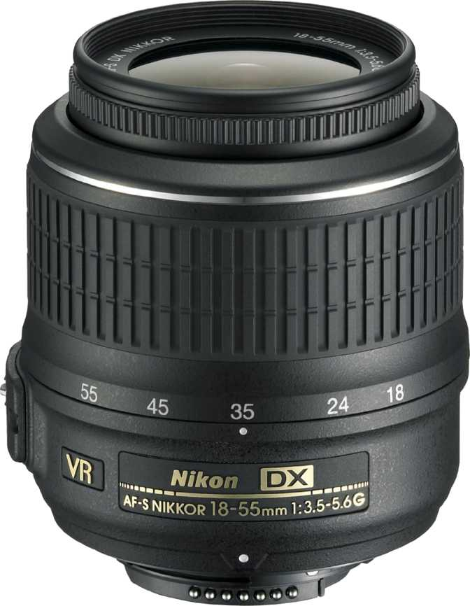 Nikkor AF-S DX 18-55mm F/3.5-5.6G VR