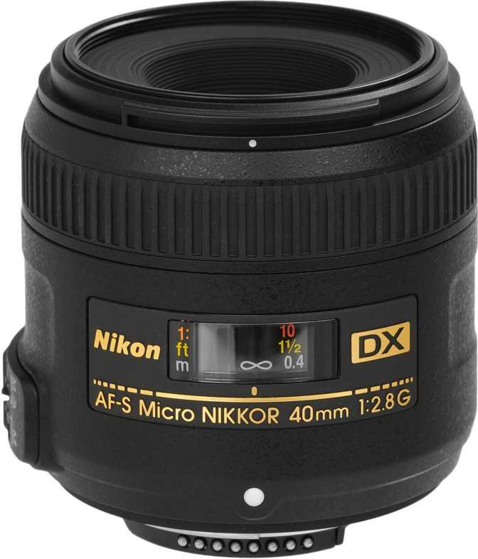 Nikon AF-S DX Micro-Nikkor 40mm F/2.8