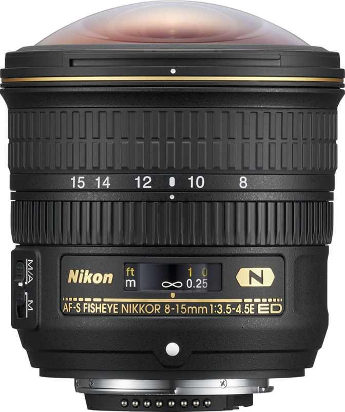 Nikon AF-S Nikkor Fisheye 8-15mm f/3.5-4.5E ED