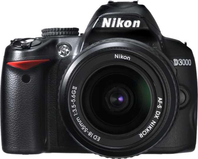 Nikon D3000 + AF-S DX Zoom-Nikkor 18-55mm f/3.5-5.6G ED II