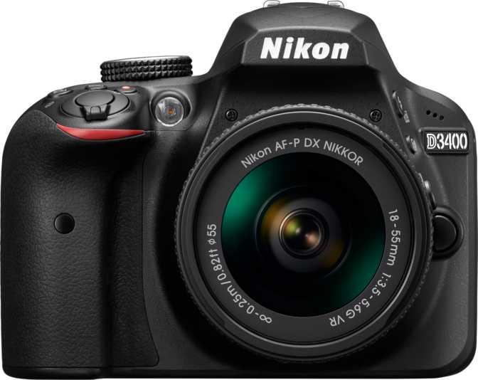 Nikon D3400 + Nikon AF-P DX Nikkor 18-55mm F3.5-5.6G VR