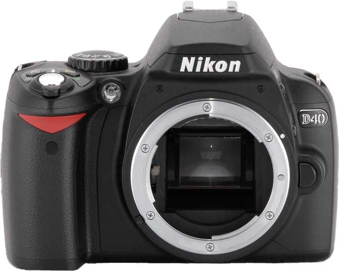 ≫ Nikon D3000 vs Nikon D40: What is the difference?