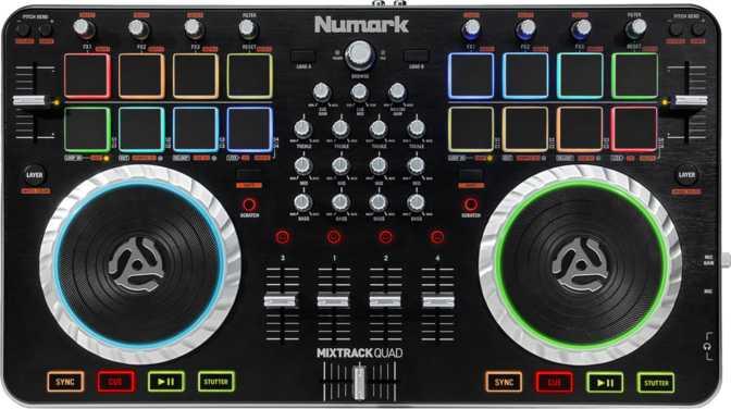 Numark Mixtrack Quad