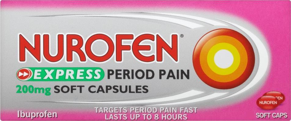 Nurofen Express Period Pain 200mg