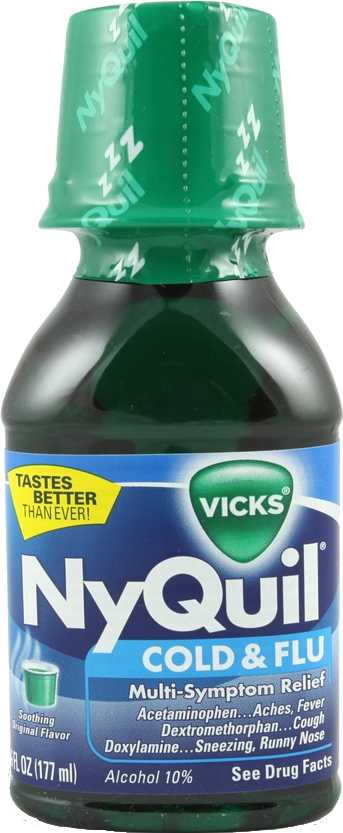 Vicks NyQuil Cold & Flu Nighttime Relief Liquid