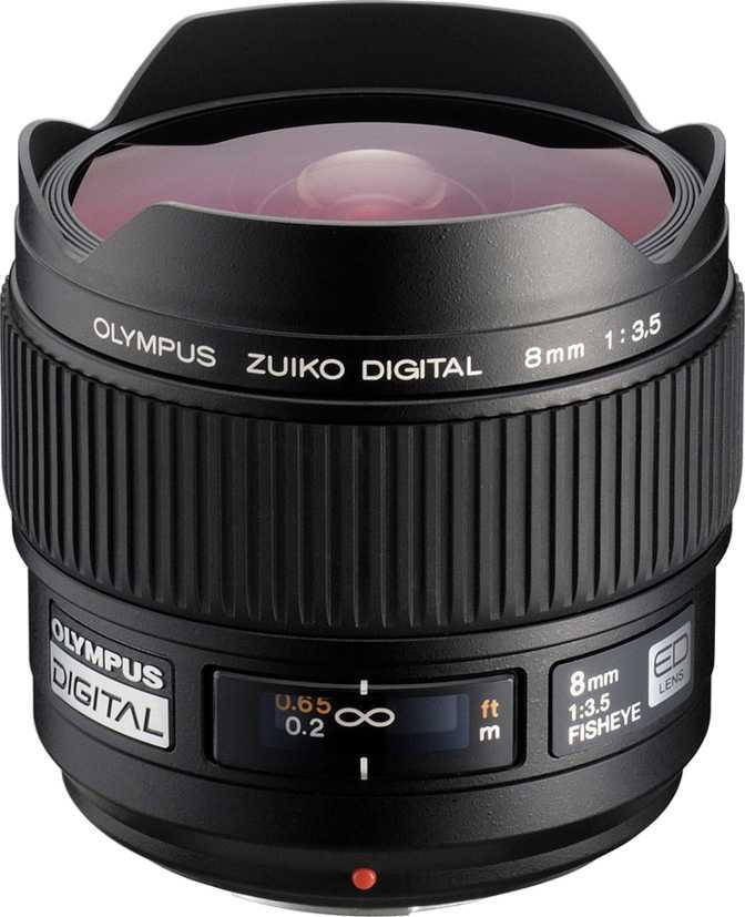 Olympus Zuiko ED 8mm F3.5 Fisheye