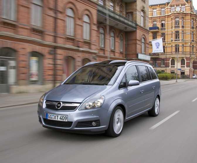Opel Zafira Family 1.7CDTi (2014)