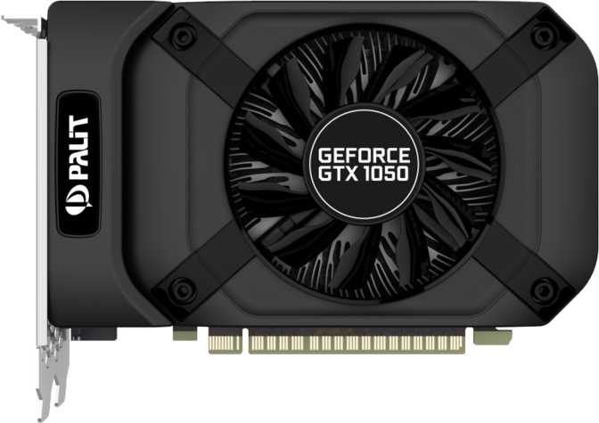 Palit GeForce GTX 1050 StormX