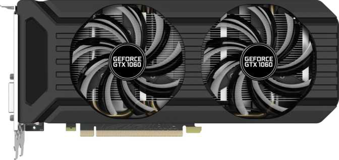 Palit GeForce GTX 1060 Dual